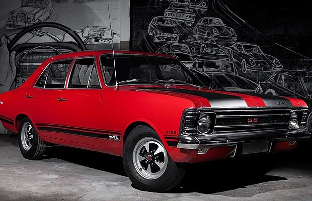 Chevrolet Opala SS (Foto: Fabio Aro)