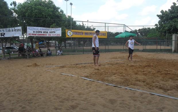 O torneio de futvôlei funciona em etapas classificatórias (Foto: FRFv)