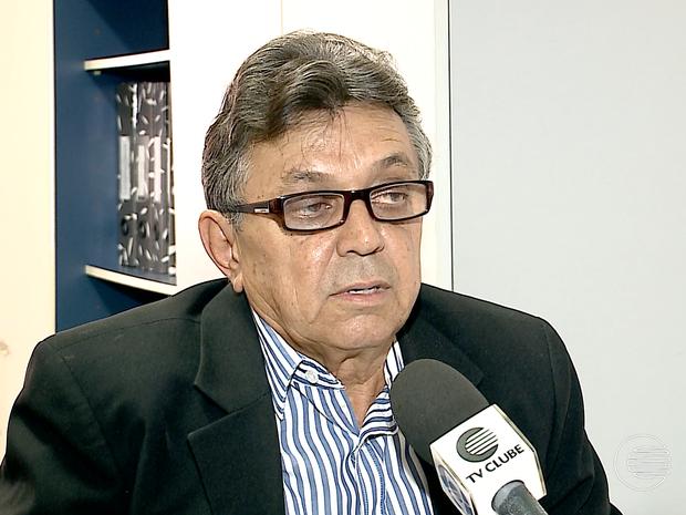 Promotor Cesário de Oliveira, em Castelo do Piauí (Foto: Reprodução/TV Clube)