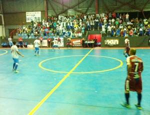 Barra Mansa e Paulo de Frontin empatam em 5 a 5 (Foto: Priscila Chagas/TV Rio Sul)