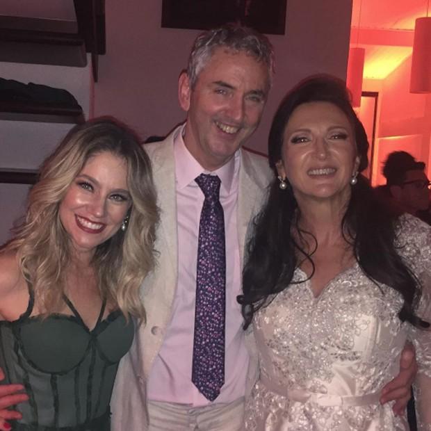 Juliana Baroni, Ruud Dankers e Débora Olivieri (Foto: Reprodução/Instagram)