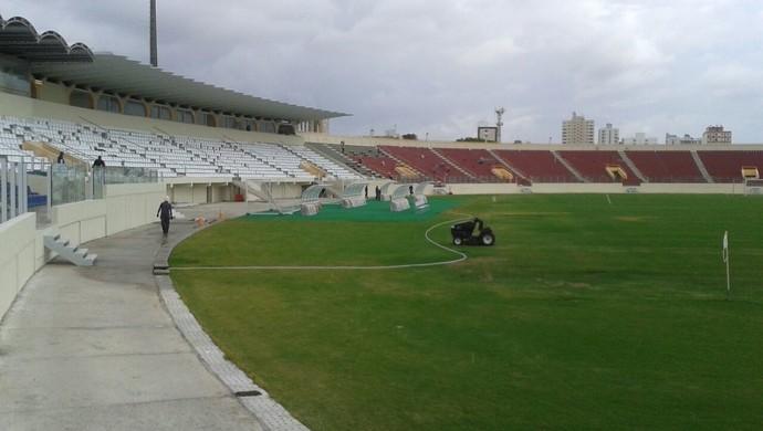 Novo Estádio Batistão (Foto: David Brandão)