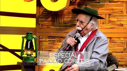 'Galpão Crioulo' reapresenta homenagem a Paixão Côrtes