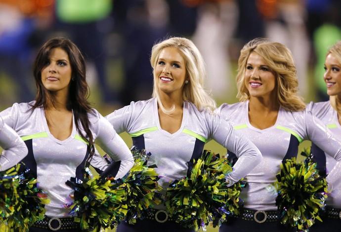 cheerleader super bowl Denver Broncos x Seattle Seahawks (Foto: EFE)