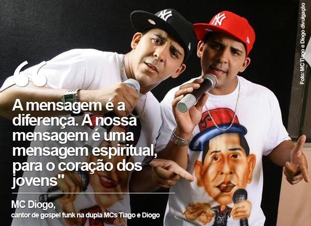 Tiago e Diogo voltaram a cantar funk após nove anos (Foto: MC Tiago e Diogo/ Divulgação)