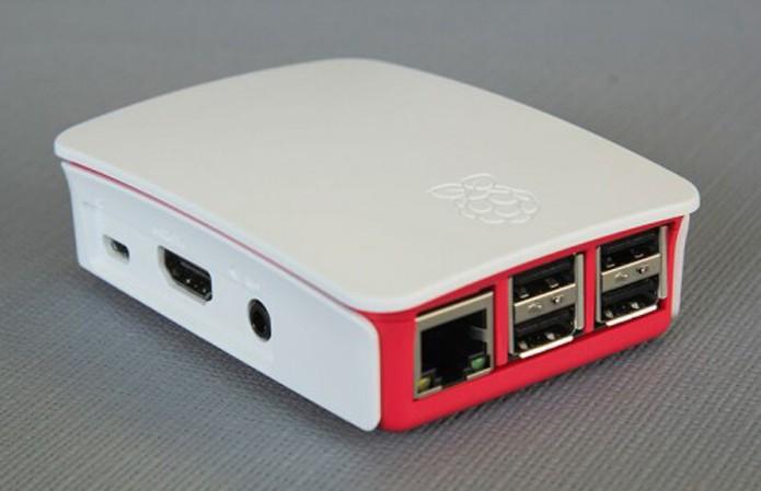 Raspberry Pi finalmente ganha case oficial (Foto: Divlugação/Raspberry Pi)