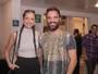 Agatha Moreira aposta em trancinhas pra show: 'Dá trabalho esse cabelo'