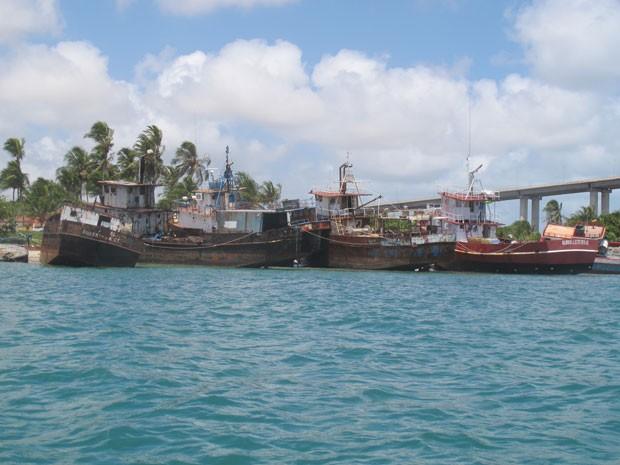 Ideia é criar área de mergulho com embarcações naufragadas no litoral potiguar (Foto:  Fred Osório/Ibama RN)