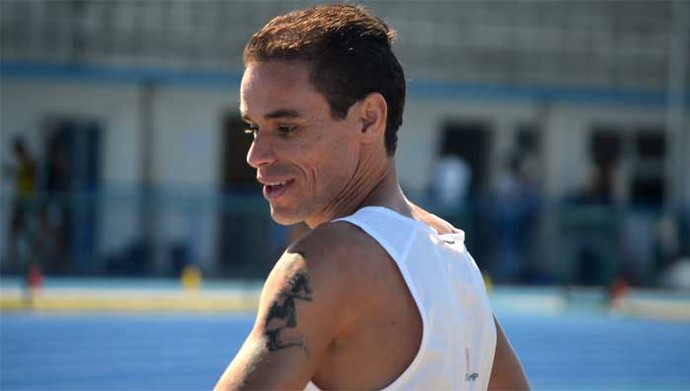 Franck Caldeira durante treino em Campinas (Foto: Maurício Barbosa/ Globoesporte.com)