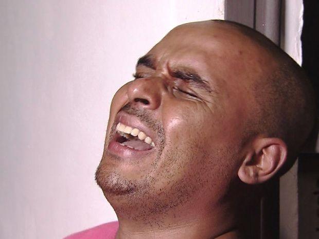 Homem foi preso em flagrante após crime em Peruíbe (Foto: Reprodução/TV Tribuna)