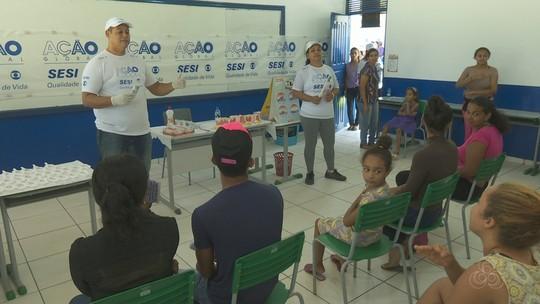 Ação Global reúne centenas de pessoas em São João da Baliza, Sul de Roraima