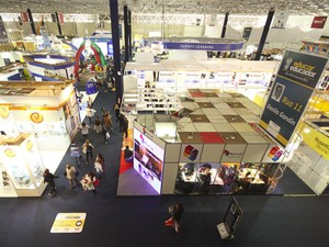 Edição de 2012 da Educar Educador, congresso e feira internacionais de educação realizados em São Paulo (Foto: Divulgação)