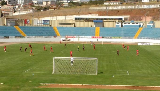 Boa Esporte x Botafogo-SP Série C (Foto: Divulgação/Vinicius Brino )