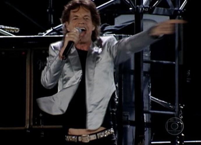 Os Stones se apresentaram para 1,5 milhão de pessoas no Rio de Janeiro (Foto: Reprodução)