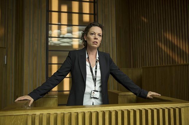 Olivia Colman em cena de 'Broadchurch' (Foto: Reprodução)