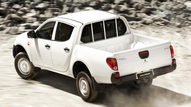 Veja imagens da linha 2013 da Mitsubishi L200 Triton
