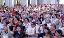 Fiéis participam da Missa das Cinzas em Montes Claros