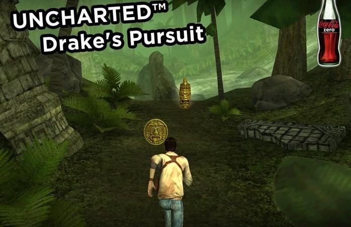 Nem Nathan Drake escapou de aparecer em um jogo meio-boca para Android e iOS (Foto: Divulgação)
