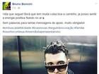 Bruno Boncini rebate fã após ser criticado por sair da Banda Malta