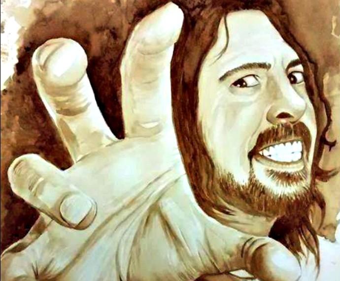 Dave Grohl Mistura com Rodaika Inspiração Luis Paulo (Foto: Divulgação/Luis Paulo)