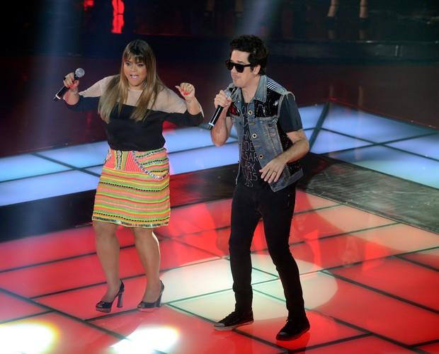 Preta Gil e Jota  (Foto: The Voice Brasil/TV Globo)
