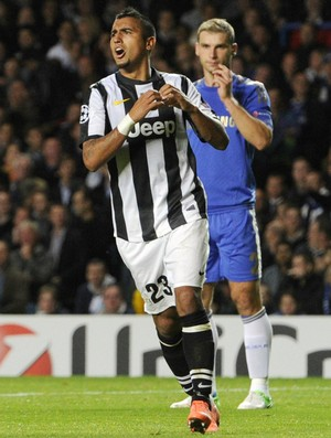 Arturo Vidal Juventus Chelsea (Foto: AP)