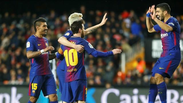 Valencia x Barcelona - Copa do Rei 2017-2018 - globoesporte.com 32b4cfb49b1bb