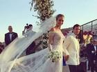 Casamento de Ana Beatriz Barros na Grécia segue pelo segundo dia