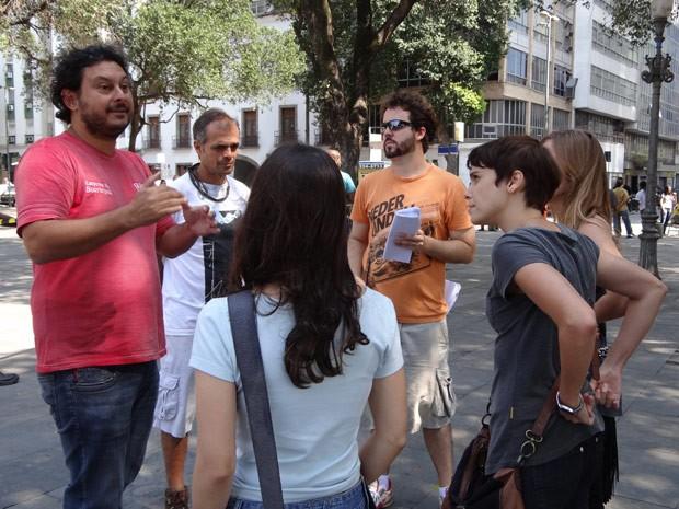 débora falabella durante gravação (Foto: avenidabrasil/tvglobo)