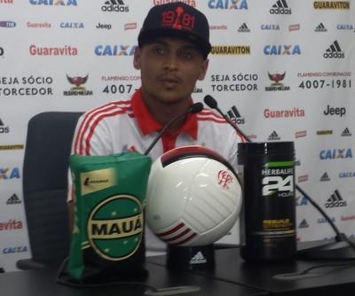 Alan Patrick Flamengo (Foto: Fred Gomes/ GloboEsporte.com)