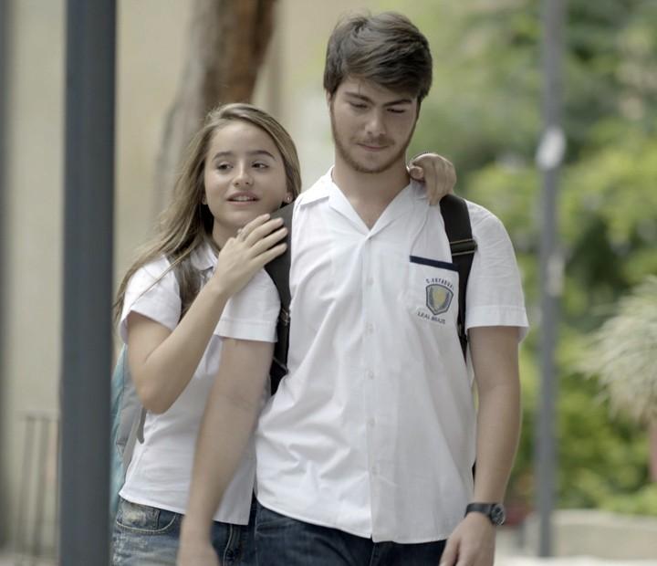 É o novo casal mais fofo que tem! (Foto: TV Globo)