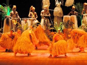 """Espetáculo """"Memórias"""", do grupo Bacnaré (Foto: Divulgação)"""