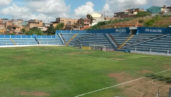 estádio carneirão (Foto: Eryck Waydson )