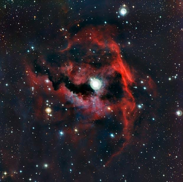 Imagem da Nebulosa da Gaivota (Foto: ESO)