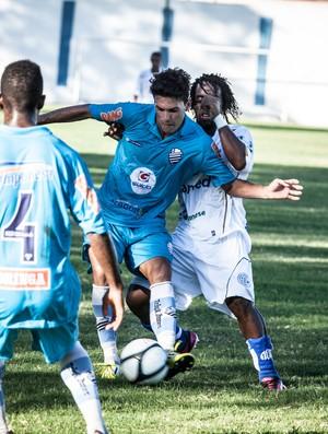 Jogo aconteceu no Estádio Sabino Ribeiro (Foto: Fillipe Araújo/ADConfiança)