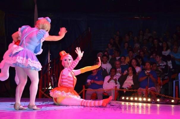 TV TEM leva crianças da região para aproveitarem tarde de diversão no Circo dos Sonhos (Foto: José Potiguara Carvalho)
