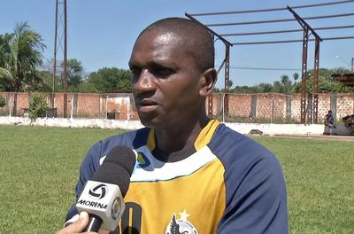 Abuda, ex-Corinthians e Vasco, vai defender o Misto no Campeonato Sul-Mato-Grossense (Foto: Reprodução/TV Morena)