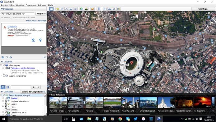 Localize primeiro qualquer parte mapeada das cidades (Foto: Reprodução)