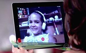 Mel Maia comemora prêmio: 'Me sinto orgulhosa e agradecida' (TV Globo)