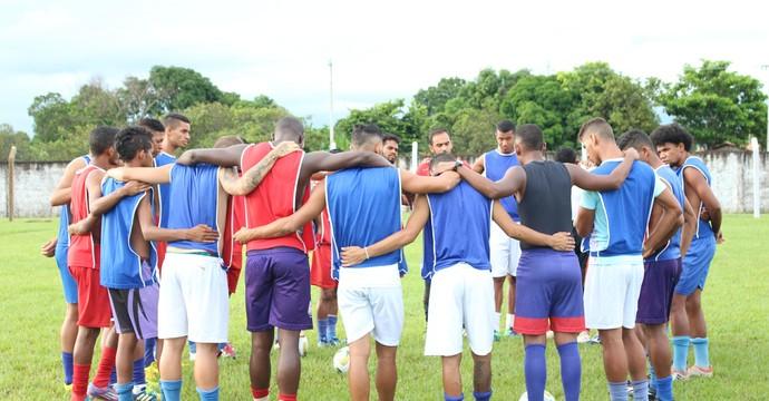 Tocantins treina com foco na estreia contra o Rio Branco-ES  (Foto: Edson Reis/ GloboEsporte.com)