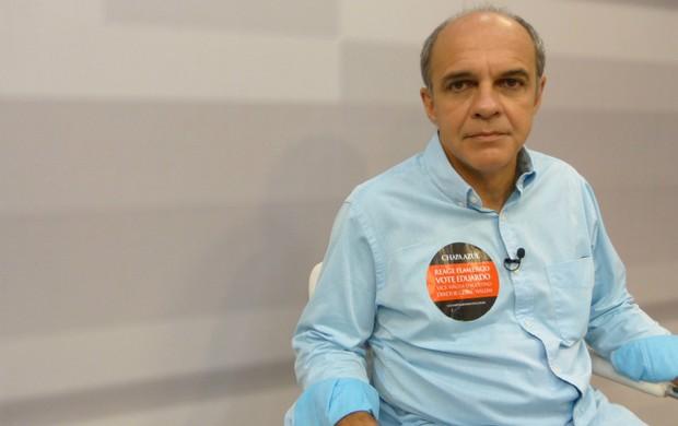 Eduardo Bandeira de Mello, candidato presidência Fla (Foto: Vicente Seda / Globoesporte.com)