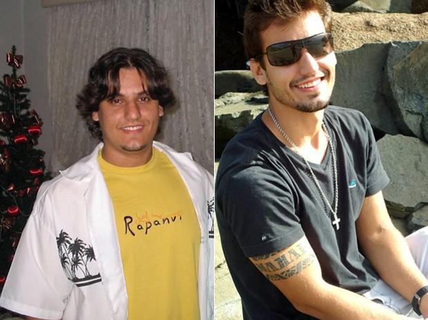 A dica de Vinícius para quem quer perder peso é mudar primeiro a cabeça; jovem perdeu 41 kg após mudar todo o estilo de vida (Foto: Arquivo pessoal)