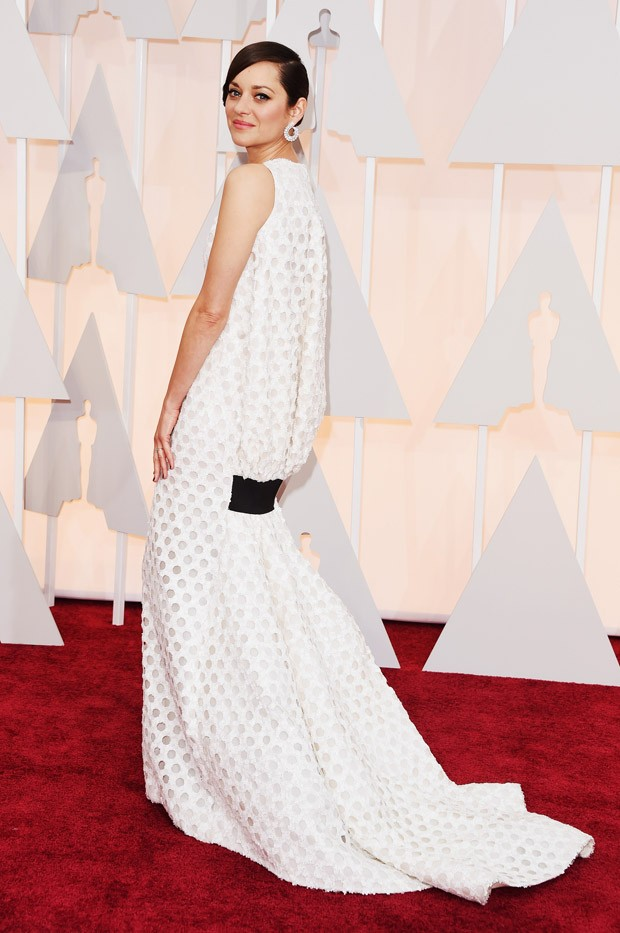 Marion Cottilard no Oscar 2015 (Foto: Getty Images)