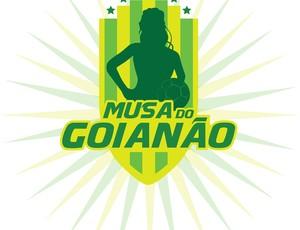 Logo Musa do Goianão (Foto: globoesporte.com)