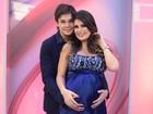 Natália Guimarães revela o nome das gêmeas: 'Maya e Kiara'