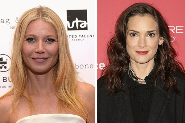 Gwyneth Paltrow e Winona Ryder (Foto: Getty Images)