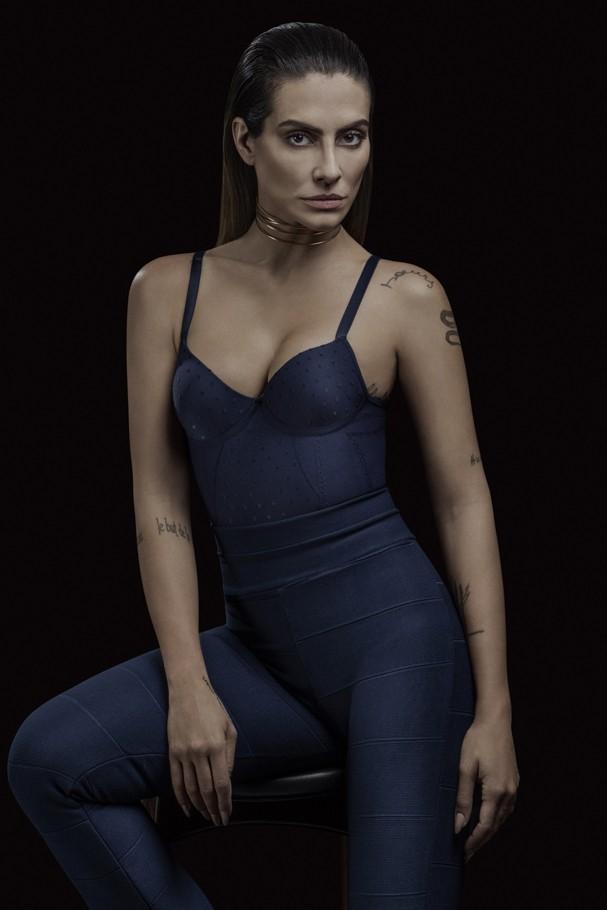 """Cleo Pires na campanha """"Shape and Shine"""", da Plié (Foto: André Passos)"""