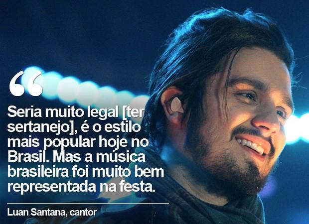Cartela Luan Santana (Foto: Pedro Amatuzzi)