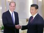 China deixa rancor sobre Hong Kong de lado e recebe príncipe William