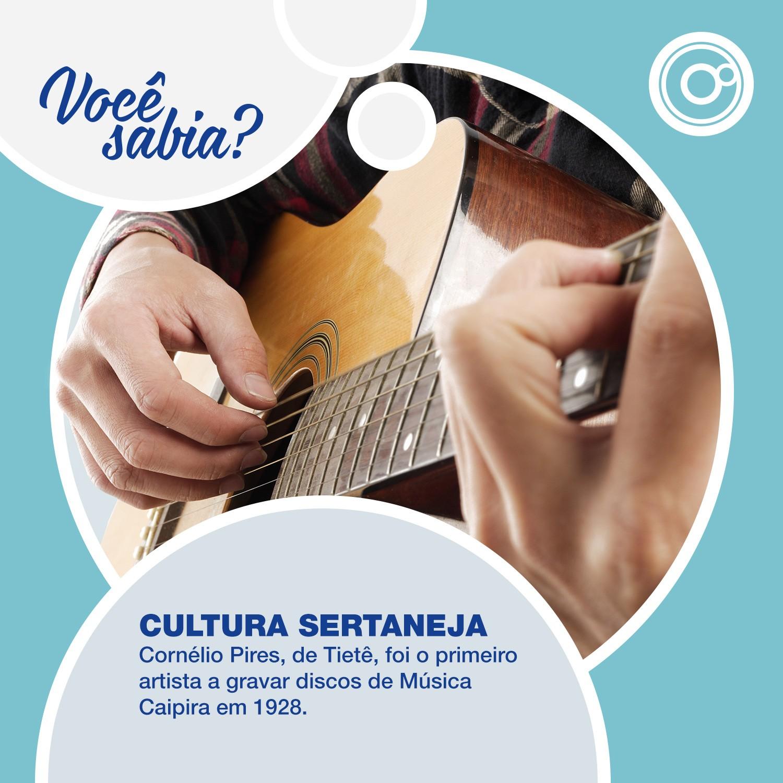 A cultura sertaneja é uma das tradições do interior paulista (Foto: Reprodução/TV TEM)